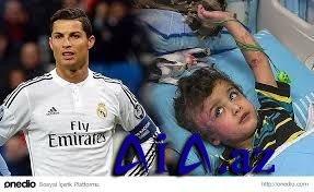 Ronaldodan müsəlmanlara növbəti dəstək