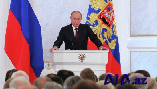 Vladimir Putinin Federal Məclisə müraciəti