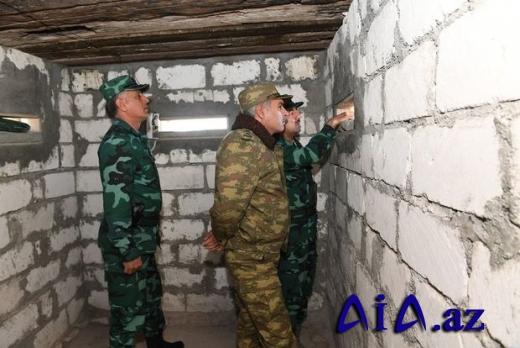 Elçin Quliyev və Xanlar Vəliyev Ermənistanla sərhəddə -